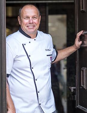Luděk Hauser, šéfkuchař restaurace